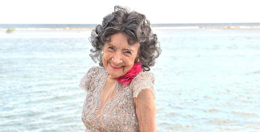 beautiful woman over 60